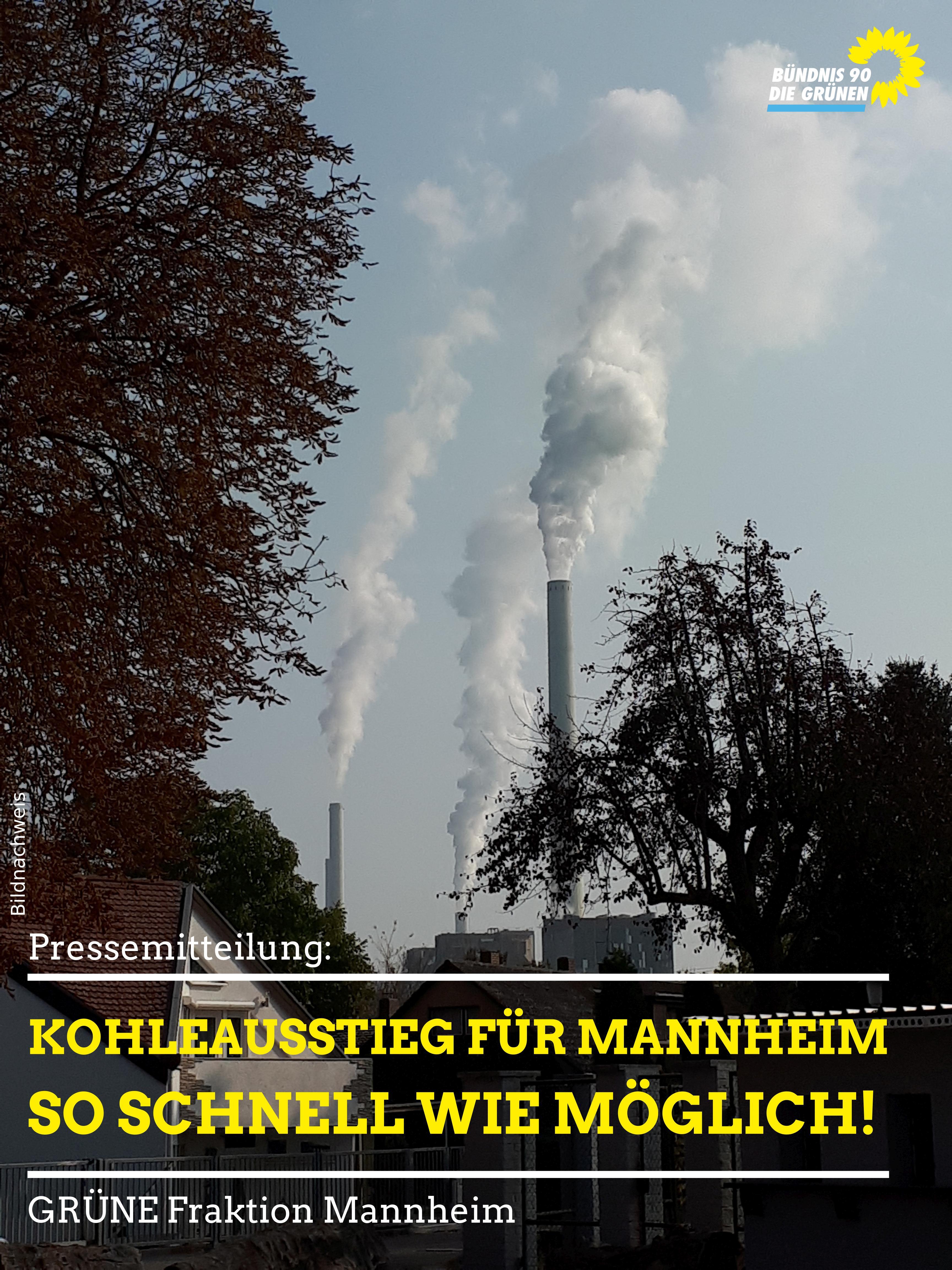 GKM - Kohleausstieg für Mannheim