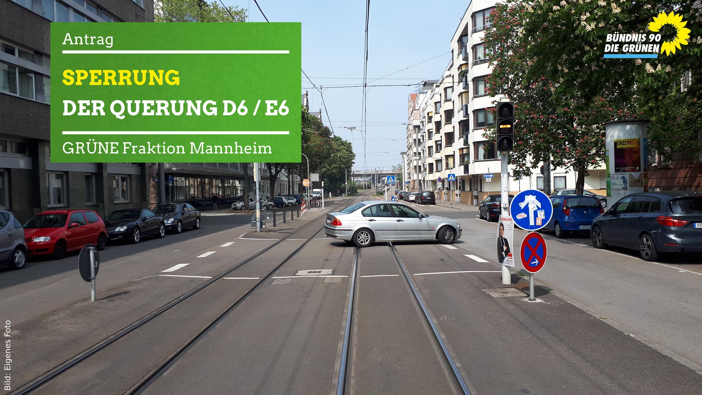 PKW quert Straßenbahnschienen