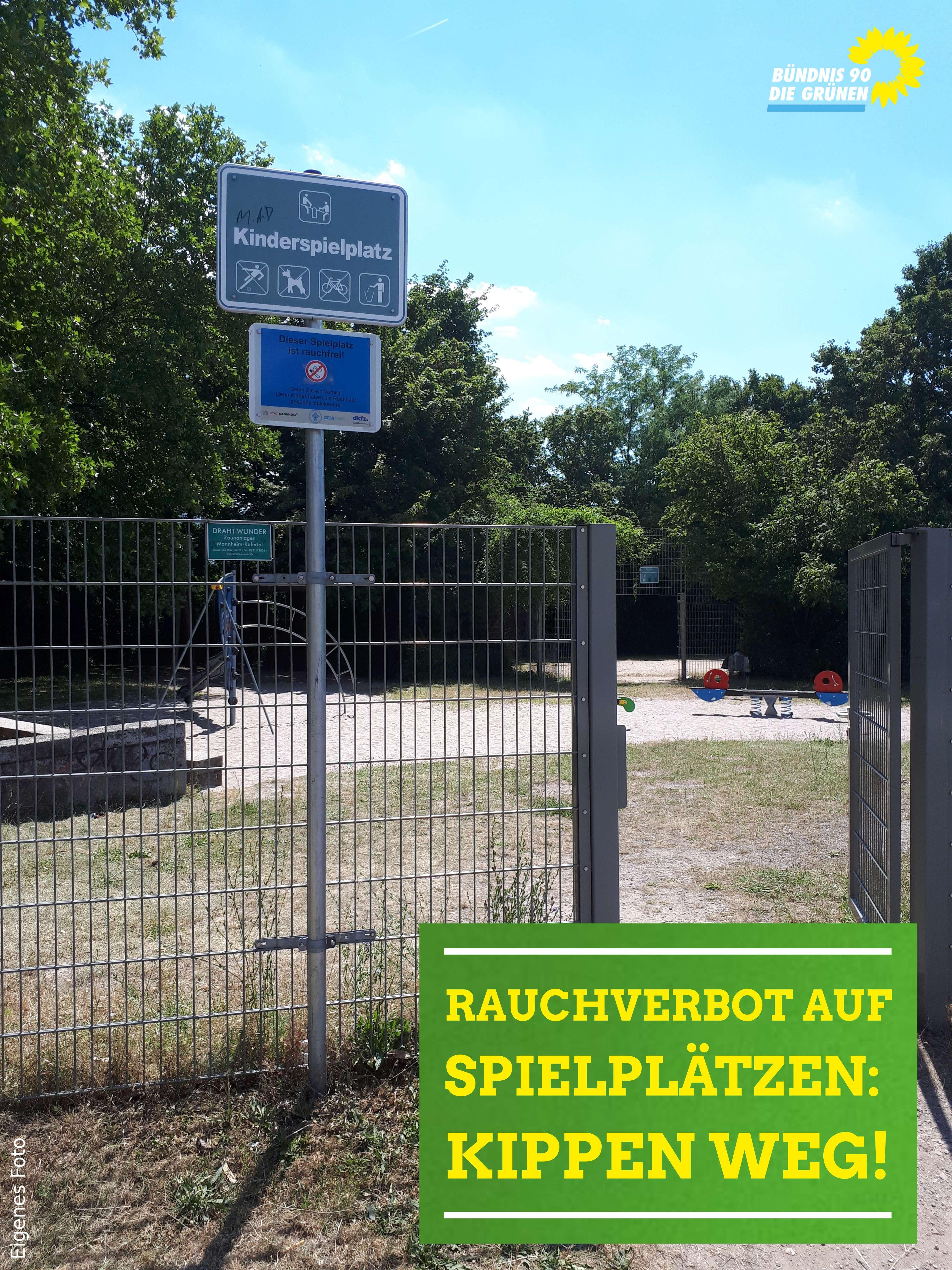 Spielplatz in Mannheim-Neckarau