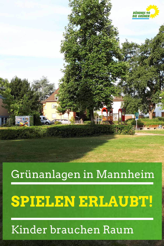 Spielplatz im August-Bebel-Park mit Grünflächen