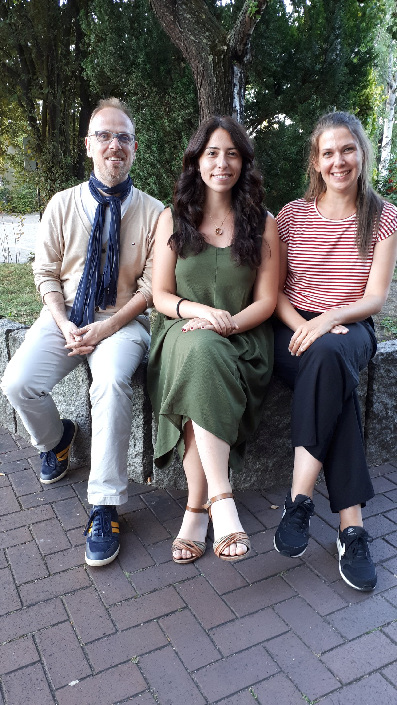 GRÜNER Fraktionsvorstand: Dirk Grunert, Melis Sekmen und Stefanie Heß