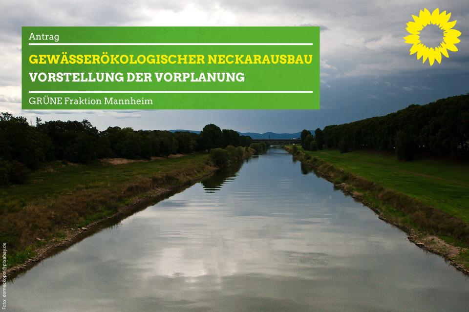Neckar an der Maulbeerinsel