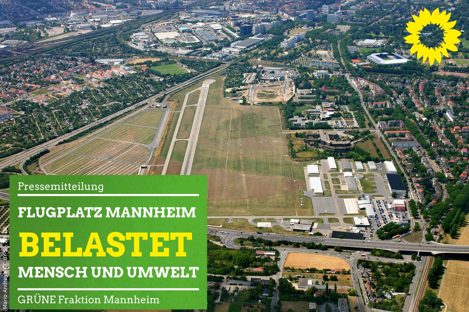Luftbild Flugplatz Neuostheim