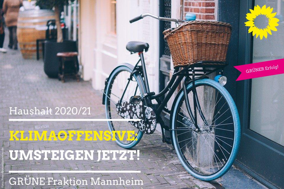 Abgestelltes Fahrrad