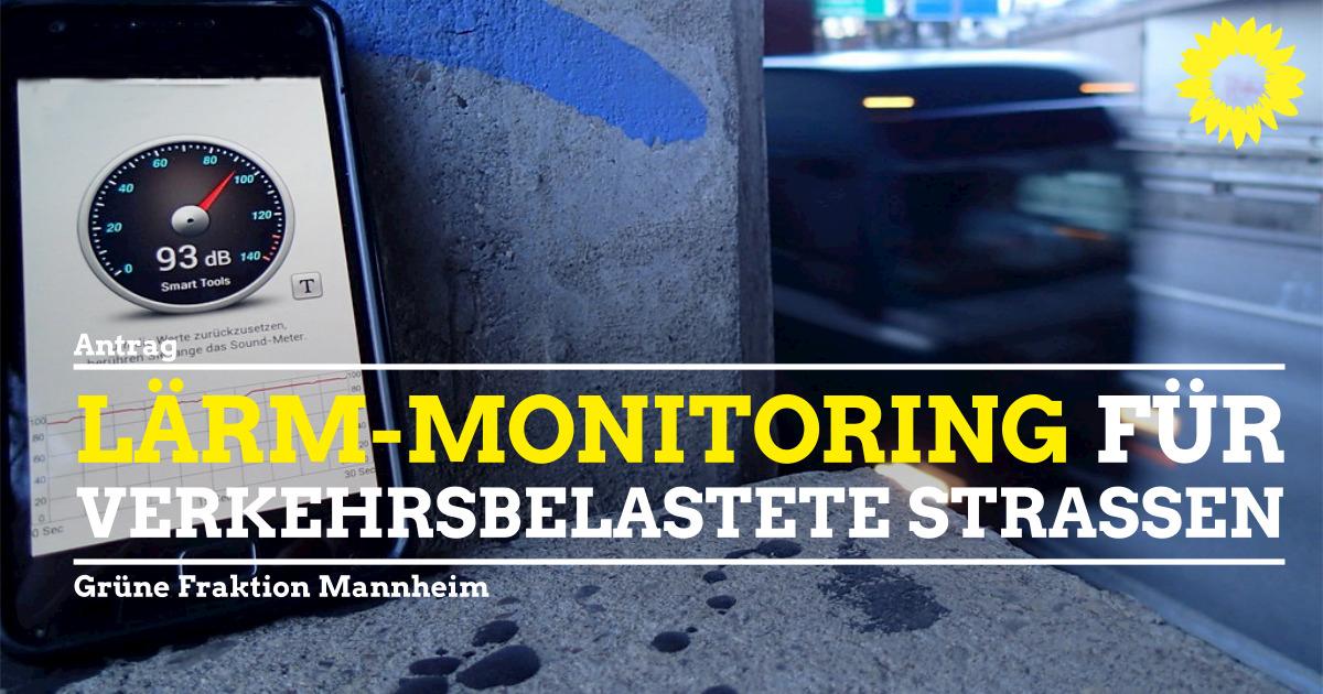 Lärm-Monitoring für verkehrsbelastete Straßen