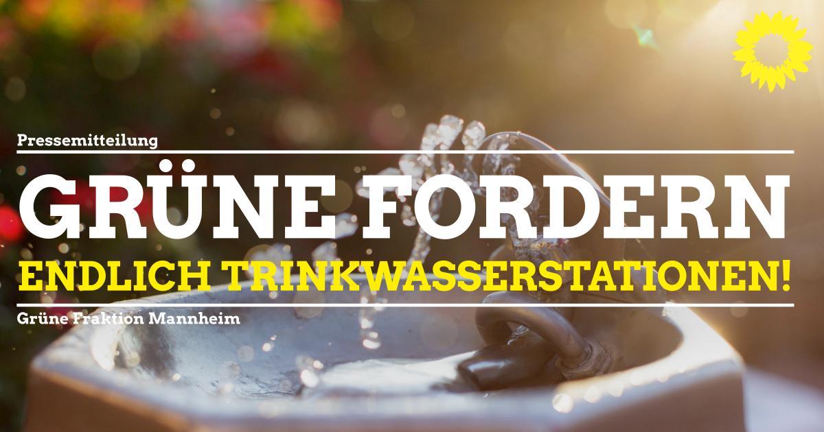 Kostenloses Trinkwasser für alle unterwegs!
