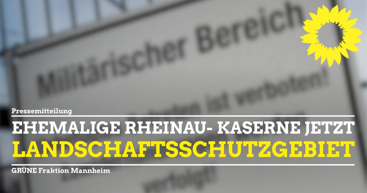 Pressemitteilung BBR Rheinau Landschaftsschutzgebiet