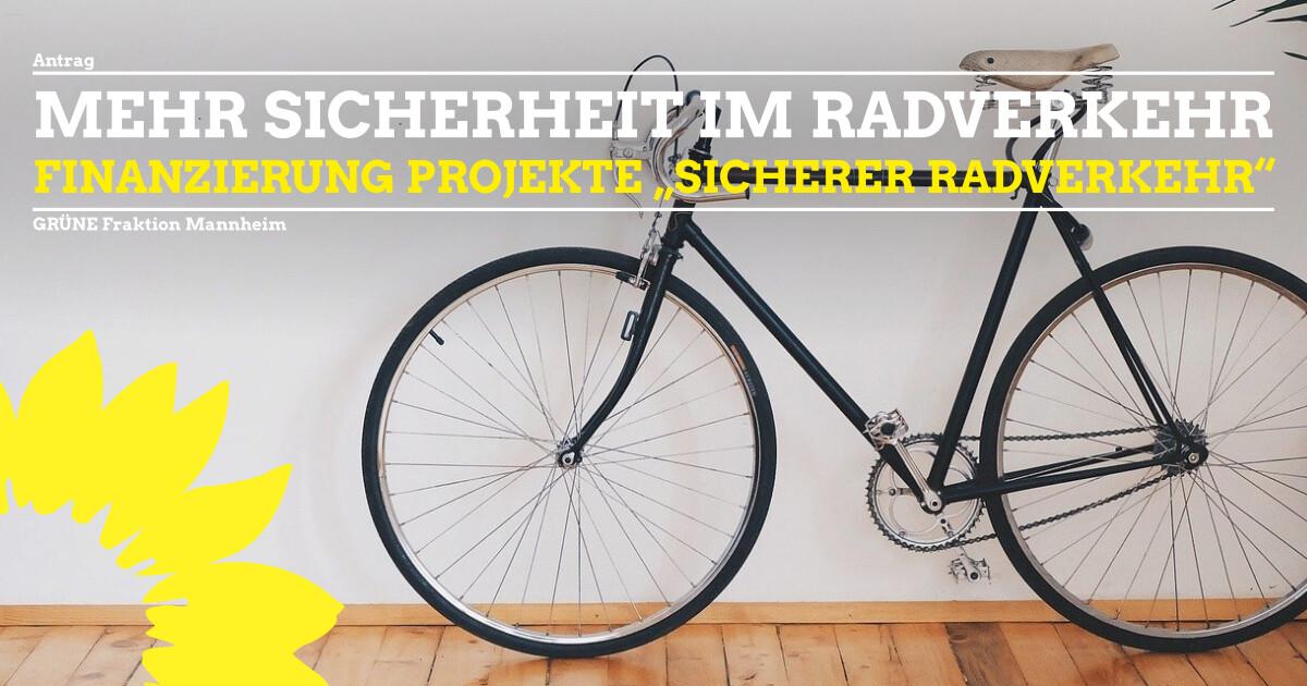 Antrag Finanzierung Sicherer Fahrradverkehr