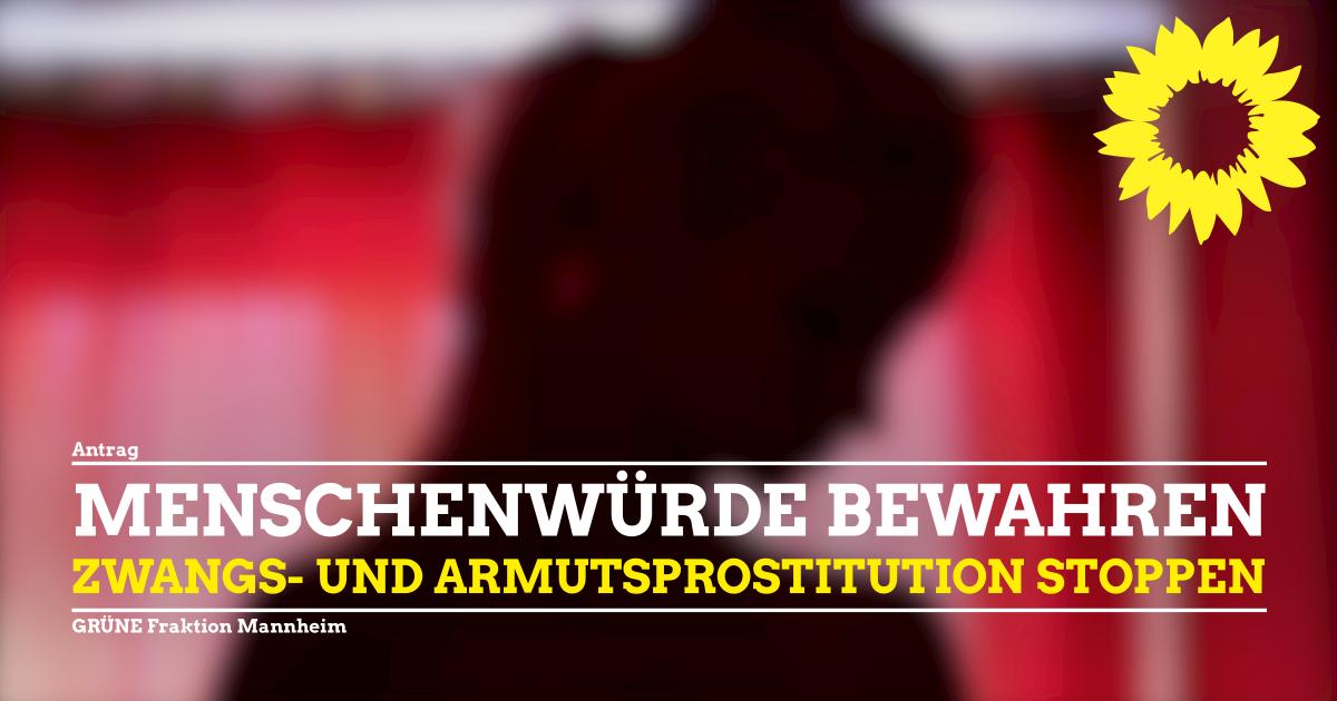 Kampagne Zwangs- und Armutsprostitution stoppen