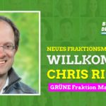 Stadtrat Chris Rihm ist neues Fraktionsmitglied
