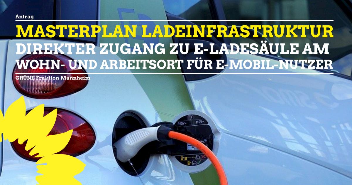 Standortkonzept Masterplan Ladeinfrastruktur