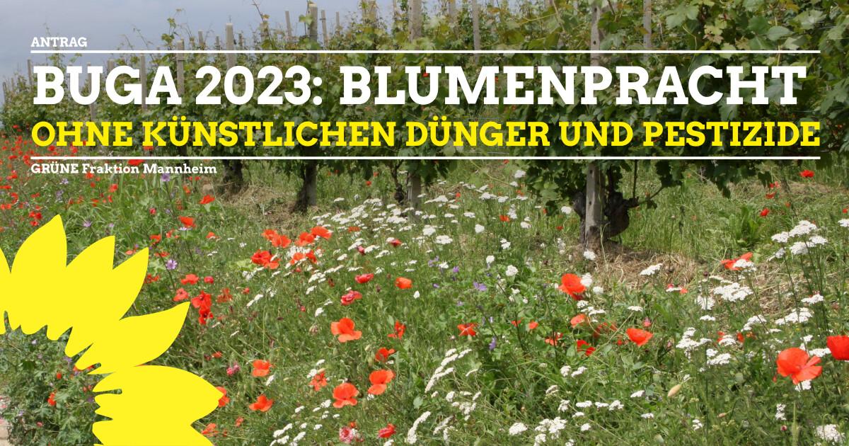 BUGA 2023 Artenschutz stärken