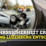 Antrag Kreuzung Luzenberg entschärfen
