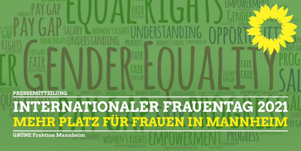 Internationaler Frauemtag 2021 Pressemitteilung