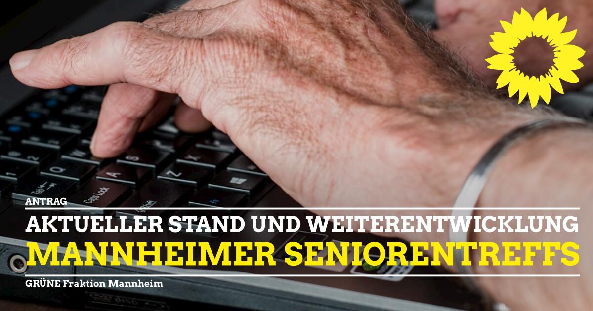 Weuterentwicklung Seniorentreff