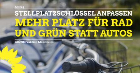 Antrag Reduktion Autostellplatzschlüssel Mannheim