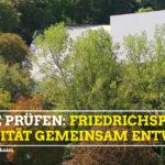 Friedrichspark und Universität gemeinsam entwickeln
